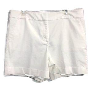 Ann Taylor LOFT The Riviera Shorts White Size 12